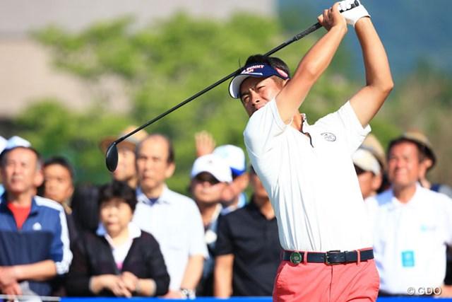 2016年 関西オープンゴルフ選手権競技 3日目 池田勇太 OUTコース4バーディ、一人スコアを伸ばしてたのにね