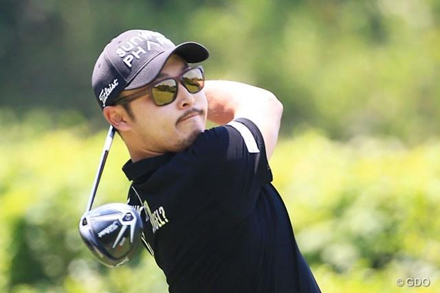 今週が国内ツアーデビューとなる趙炳旻(チョ・ビョンミン)が5位で最終日へ