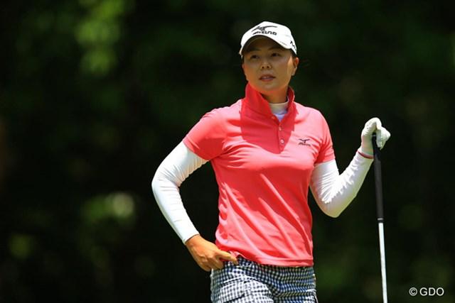 2016年 中京テレビ・ブリヂストンレディスオープン 2日目 上原美希 今日も非常に安定感のあるゴルフでした。4位タイです。