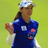 今日は非常に出入りの激しいゴルフで、残念ながらスコアを落としてしまいました。 2016年 中京テレビ・ブリヂストンレディスオープン 2日目 笹原優美