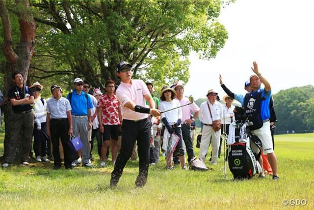 2016年 関西オープンゴルフ選手権競技 最終日 川村昌弘 川村昌弘は3日目に痛めた右腕が悪化。「言い訳にはしたくないけど・・・」