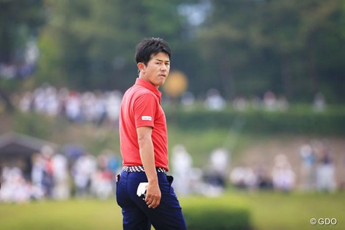 しかめっ面で18番を後に 2016年 関西オープンゴルフ選手権競技 最終日 近藤共弘