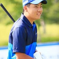 緊張から解放? 2016年 関西オープンゴルフ選手権競技 最終日 三田真弘