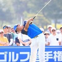 最終日は「76」と崩れた三田真弘。4日間を通算10オーバーで終えた 2016年 関西オープンゴルフ選手権競技 最終日 三田真弘
