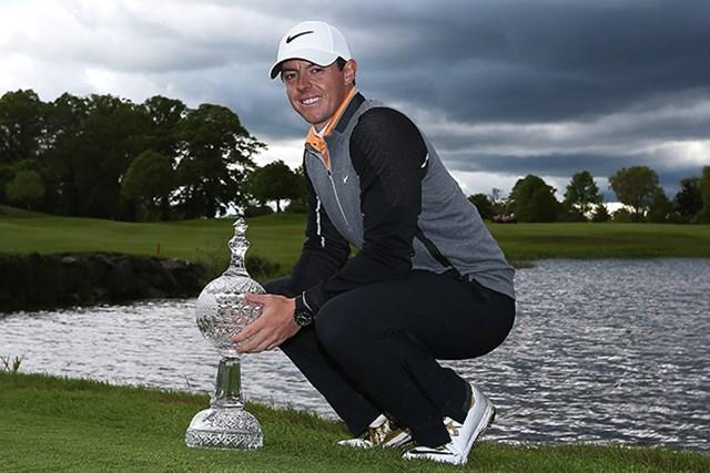 自らのホスト大会で優勝を飾ったロリー・マキロイ(Jan Kruger/Getty Images)