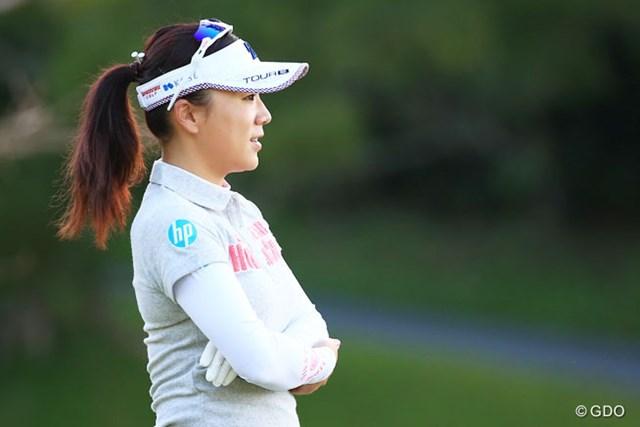 2016年 有村智恵 有村智恵は米ツアーから撤退し国内ツアー復帰を目指す※撮影は2016年ダイキンオーキッドレディスゴルフトーナメント