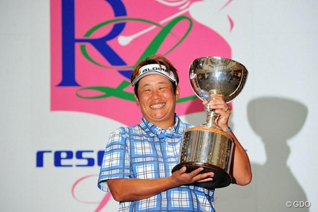 2016年 リゾートトラスト レディス 最終日 表純子 最終ラウンドはキャンセル。前日首位の表純子が優勝した