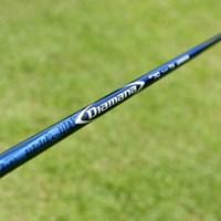ディアマナの新シリーズがツアー会場でお目見え。青マナの後継4機種目だ 2016年 日本ゴルフツアー選手権 森ビルカップ Shishido Hills 事前 三菱レイヨン ディアマナBF