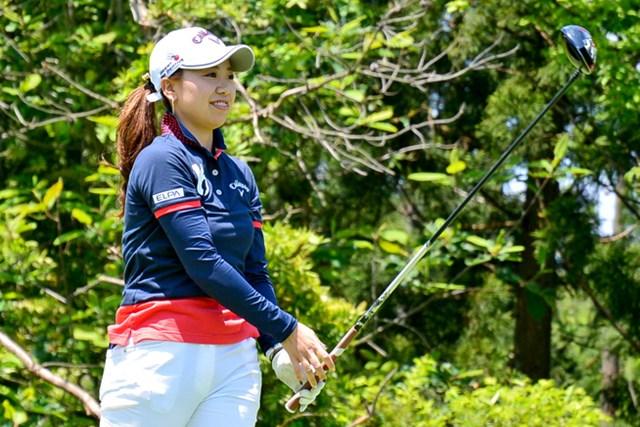 前年プロテスト合格の種子田香夏が単独首位で最終日へ ※画像提供:日本女子プロゴルフ協会(LPGA)