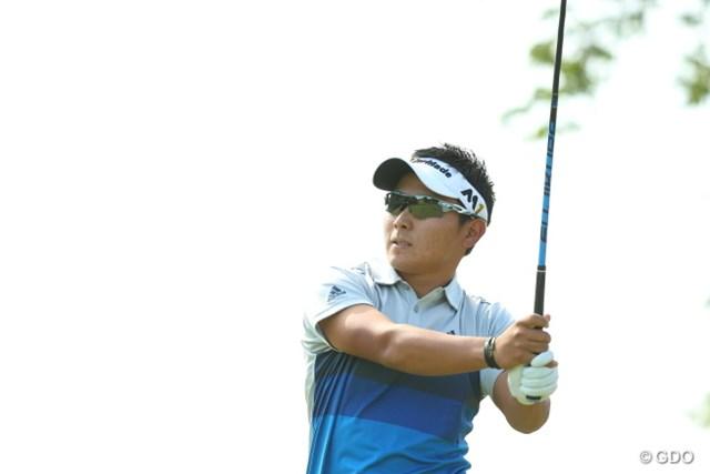 2016年 日本ゴルフツアー選手権 森ビルカップ Shishido Hills 初日 池村寛世 大会初出場の20歳、池村寛世が2アンダー首位タイで飛び出した