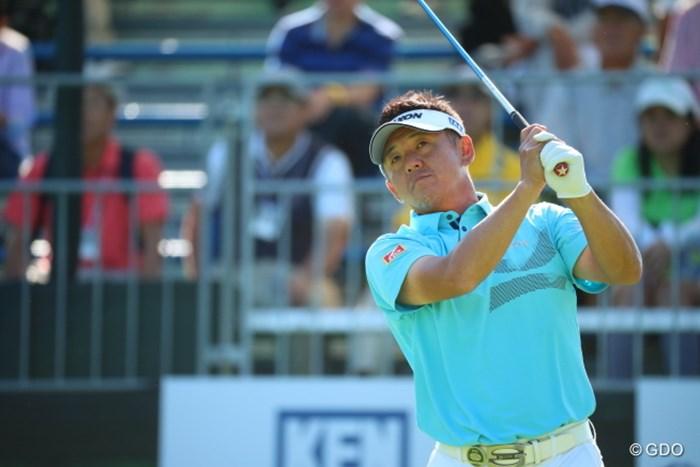 あら、宮瀬さん久しぶりですね。 2016年 日本ゴルフツアー選手権 森ビルカップ Shishido Hills 初日 宮瀬博文