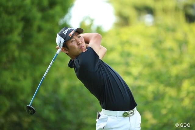 2016年 日本ゴルフツアー選手権 森ビルカップ Shishido Hills 初日 小袋秀人 豪快なショットが持ち味の小袋は日本アマチュア選手権の歴代王者のひとり