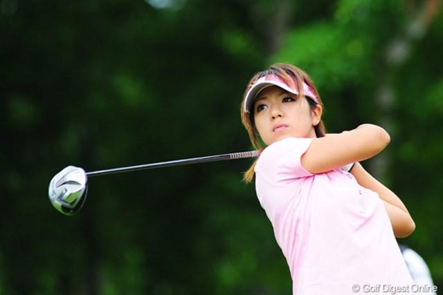 2009年 アクサレディスゴルフトーナメント初日 中村香織 ブッチャケ天然系の香織姐さんは腰痛で棄権。残念・・・