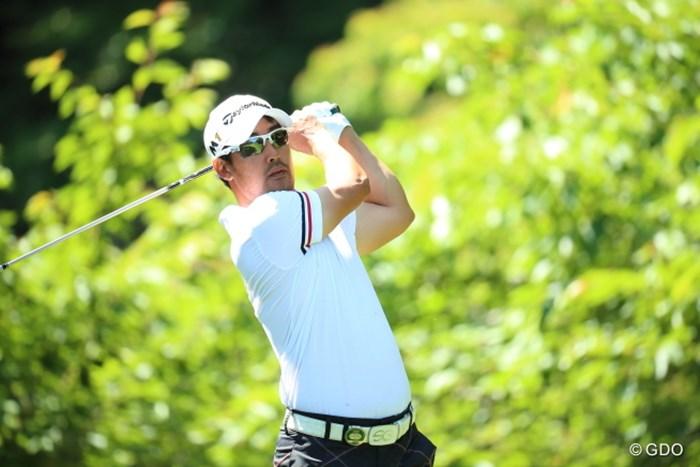 「68」と伸ばしたJ.B.パクが1打差の首位で週末に進んだ 2016年 日本ゴルフツアー選手権 森ビルカップ Shishido Hills 2日目 J.B.パク
