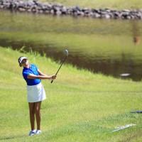 プロツアー最年少出場 2016年 ヨネックスレディスゴルフトーナメント 初日 アレクサ・パノ
