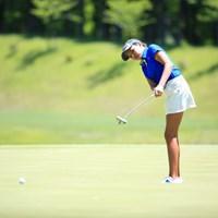 まだ11歳の少女 2016年 ヨネックスレディスゴルフトーナメント 初日 アレクサ・パノ