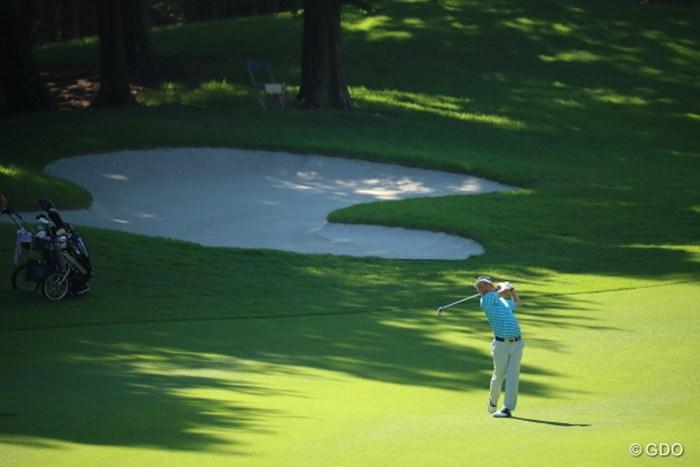 小さくたって強いエイトマン。 2016年 日本ゴルフツアー選手権 森ビルカップ Shishido Hills 2日目 上平栄道