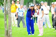 2009年 アクサレディスゴルフトーナメント2日目 赤堀奈々&辻村明須香