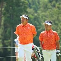 僕たちおそろい。 2016年 日本ゴルフツアー選手権 森ビルカップ Shishido Hills 3日目 小田龍一、上平栄道