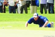 2009年 アクサレディスゴルフトーナメント2日目 マイケル(大山志保のキャディ)