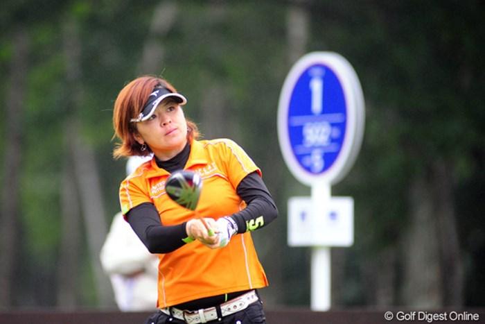 以前からの知り合いやけど、ようやくUPすることができたで~。17位T 2009年 アクサレディスゴルフトーナメント2日目 廣瀬友美
