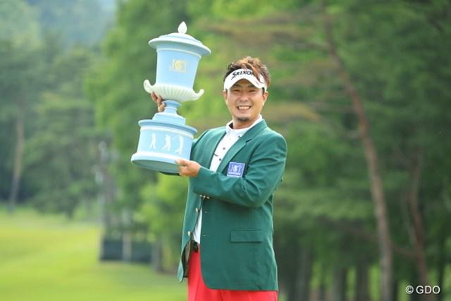 ツアー初優勝をメジャー制覇で飾った塚田陽亮