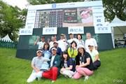 2016年 日本ゴルフツアー選手権 森ビルカップ Shishido Hills 最終日 応援団