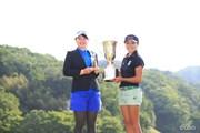 2016年 ヨネックスレディスゴルフトーナメント 最終日 ポラニ・チュティチャイ、蛭田みな美