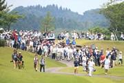 2016年 ヨネックスレディスゴルフトーナメント 最終日 若林舞衣子、馬場ゆかり、ポラニ・チュティチャイ