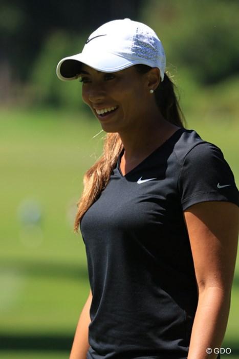 タイガーに似てきたなぁ…シャイアン・ウッズ 2016年 KPMG女子PGA選手権 事前 シャイアン・ウッズ