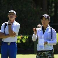 ユ・ソヨンのコーチはジョーダン・スピースと同じキャメロン・マコーミック氏 2016年 KPMG女子PGA選手権 事前 ユ・ソヨン キャメロン・マコーミック氏
