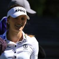 妖精です 2016年 KPMG女子PGA選手権 事前 クララ・スピルコバ