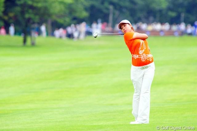 2009年 アクサレディスゴルフトーナメント最終日 森田理香子 リカコちゃんナイスプレー!一時はトップを走った。初Vは近い予感。