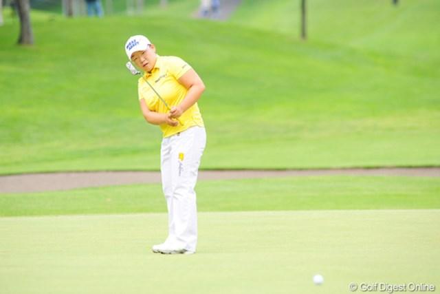 2009年 アクサレディスゴルフトーナメント最終日 申智愛 世界のジエちゃんはこの日不発。チーム・ジャパンに敗れ去った・・・。