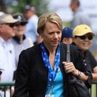会場にはアニカ・ソレンスタムの姿も 2016年 KPMG女子PGA選手権 事前 アニカ・ソレンスタム