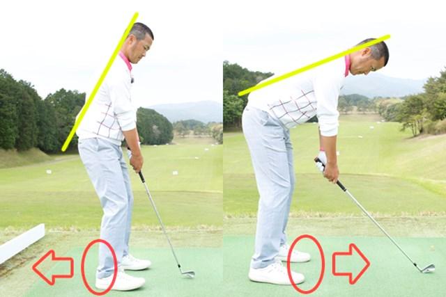 体重配分によって弾道を自在にコントロール~第6回~ 今さら聞けないスイングの基礎 画像1 前後左右の体重配分が弾道に影響を及ぼすことを知っておきましょう
