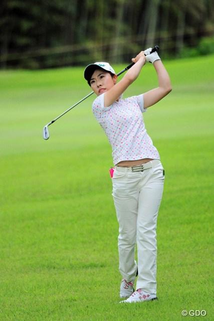 2016年 サントリーレディスオープンゴルフトーナメント 初日 木村彩子 前年のプロテストに合格。本格参戦1年目の木村彩子が5位発進とした