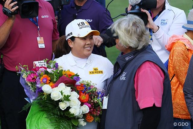 2016年 KPMG女子PGA選手権 初日 朴仁妃 朴仁妃が史上最年少で「LPGA殿堂入り」