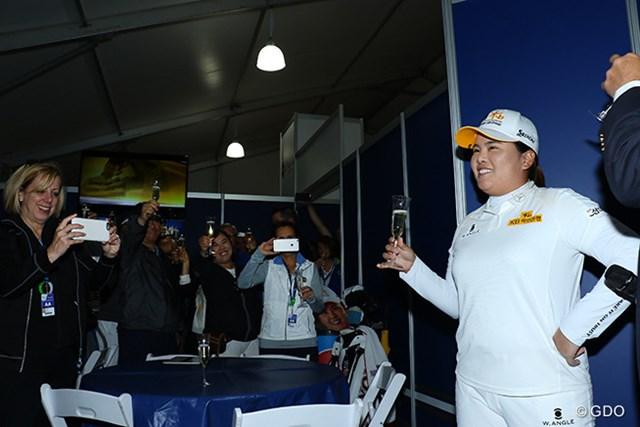 2016年 KPMG女子PGA選手権 初日 朴仁妃 あれ?奥にもう一人朴仁妃いる?