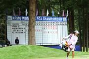 2016年 KPMG女子PGA選手権 初日 18番