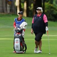 殿堂入り選手の中でもベテランの域にいるデービースは、今も現役バリバリなのは驚き! 2016年 KPMG女子PGA選手権 初日 ローラ・デービース