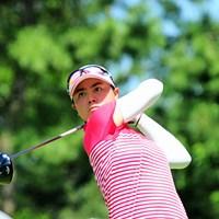 日本とフィリピンの二重国籍を持つユウカ・サソウが36位で決勝に進んだ 2016年 サントリーレディスオープンゴルフトーナメント 2日目 ユウカ・サソウ 笹生優花