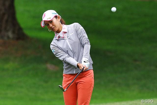2016年 KPMG女子PGA選手権 2日目 宮里藍 宮里藍は好位置で後半に突入