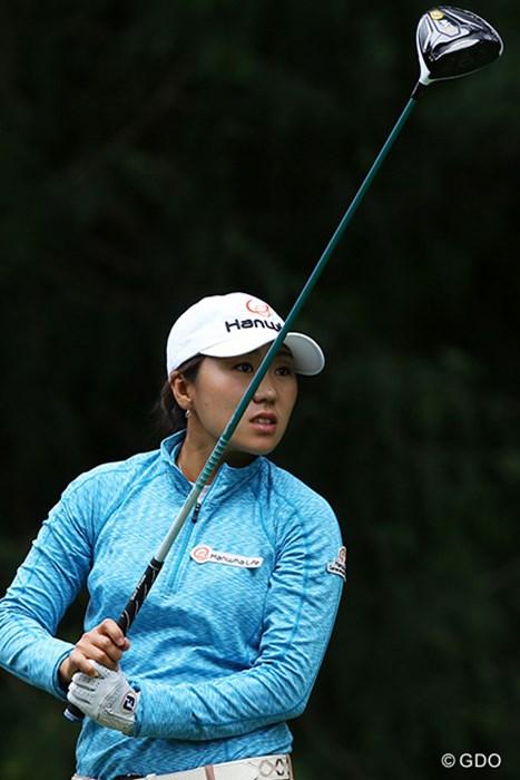 宮里藍と同じ通算イーブンで決勝ラウンドへ。2012年マビスコ選手権での惜敗を払拭するメジャー優勝を狙う 2016年 KPMG女子PGA選手権 2日目 キム・インキョン