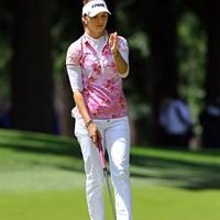 チェコから特別推薦枠で出場した21歳は、残念ながら二日続けて80を叩いて予選落ち。次はオリンピックに出場予定 2016年 KPMG女子PGA選手権 2日目 クララ・スピルコバ