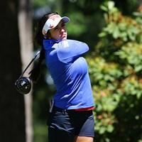 2日目は3アンダーでプレーし、3位タイにつけた 2016年 KPMG女子PGA選手権 2日目 ジェリーナ・ピラー
