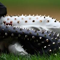 キム・ヒョージュのヘッドカバーはスパーキー。取ったり付けたりするとき、どこを持つの? 2016年 KPMG女子PGA選手権 2日目 キム・ヒョージュのヘッドカバー