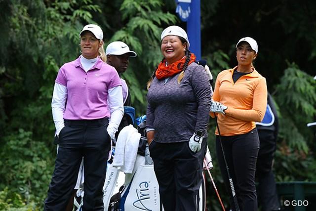 2016年 KPMG女子PGA選手権 3日目 スーザン・ペターセン、クリスティナ・キム、シャイアン・ウッズ 。濃ゆ?い3人が同組になりました