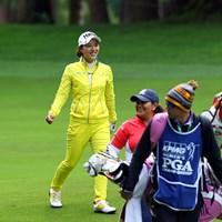レインギアはこれぐらい目立つ方が気持ちイイ! 2016年 KPMG女子PGA選手権 3日目 パク・ヒヨン