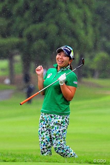 2016年 サントリーレディスオープンゴルフトーナメント 最終日 吉田弓美子 優勝スコアに1打届かなかったが、納得のプレーで4日間を締めくくった吉田弓美子